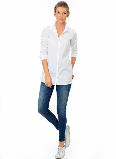 Only Jean Pantolon | Düşük Bel Skinny Mavi